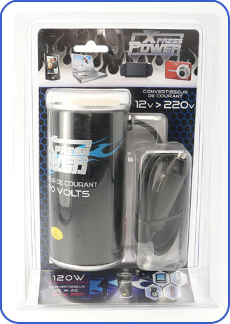 chargeur transfomrateur voiture power can